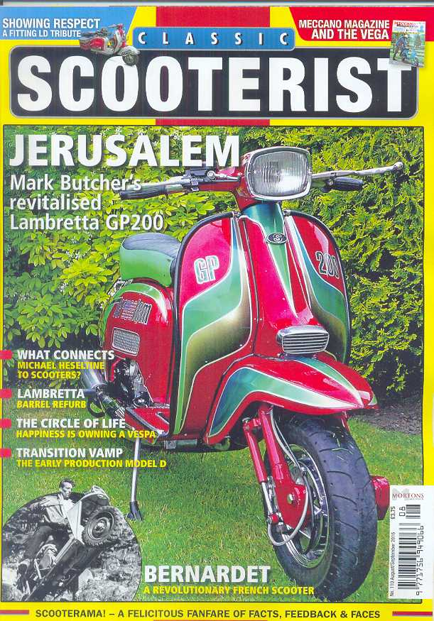 Classic Scooterist - 110 - Aug/Sept 2016