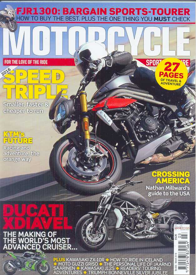Motorcycle Sport & Leisure - 201603 - March 2016