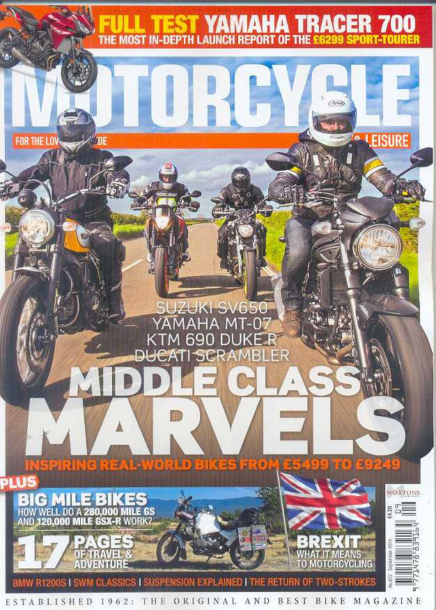 Motorcycle Sport & Leisure - 201609 - September 2016