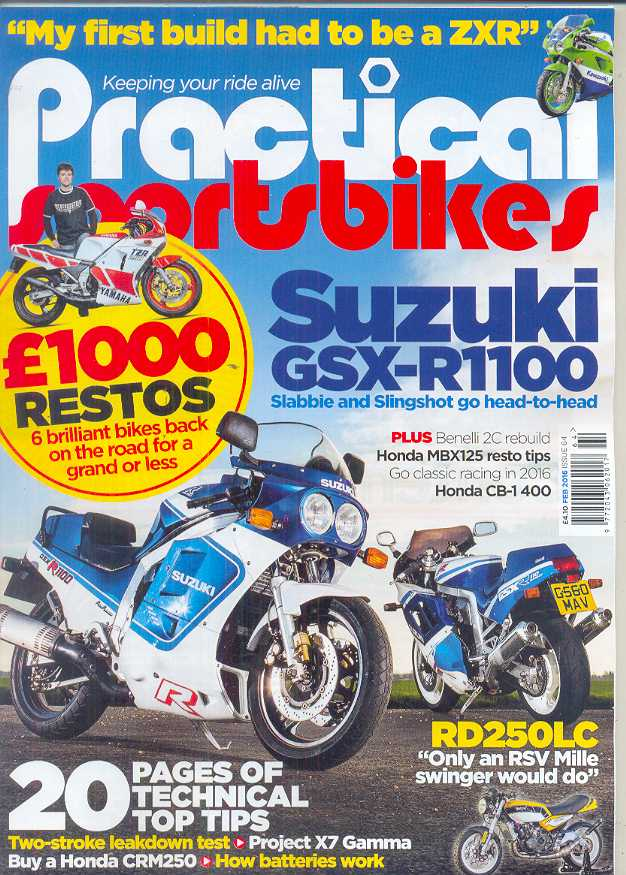 Practical Sportsbikes - Issue #64 - February 2016