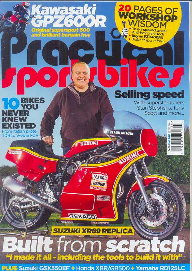 Practical Sportsbikes - Issue #65 - March 2016