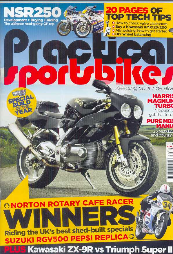 Practical Sportsbikes - Issue #70 - August 2016